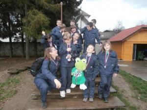 mladi bevški gasilci zasedli najvišja mesta
