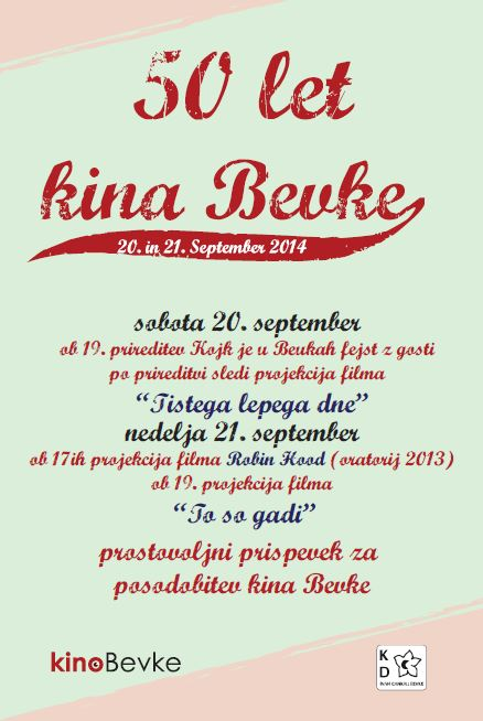 50 letnica kina Bevke